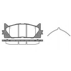 Колодки тормозные передние Toyota Camry Rav 4
