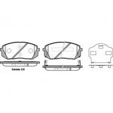 Колодки тормозные Kia Sportage ix35 i40 Tucson(TL)