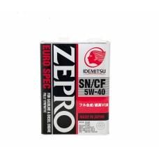 Масло моторное Zepro Euro Spec 5W-40 4л