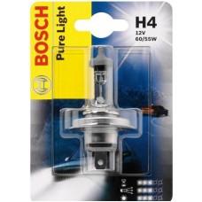 Лампа накаливания Bosch Pure Light H4