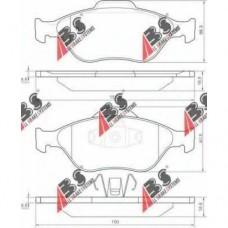 Колодки  передние Ford Fusion Fiesta Mazda2